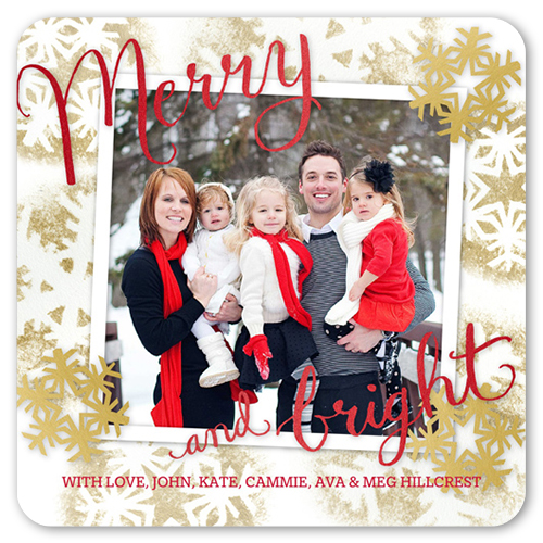 5x5 Holiday Cards & Square Christmas Cards