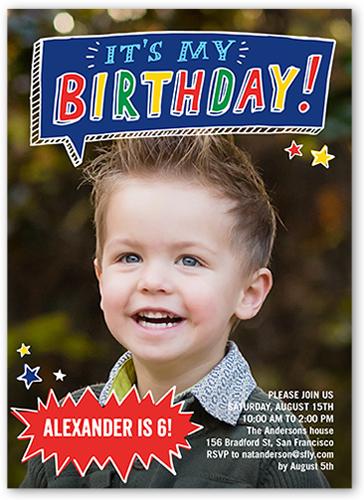 Birthday Card Boy 7