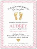 glittering baby girl baby shower invitation from 0 99