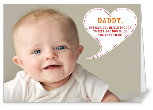 One Day Daddy 5x7 Greeting Card | Father's Day Cards | Shutterfly