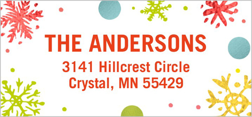 All Things Merry Address Label