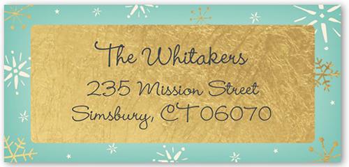 Lovely Snowflake Address Label