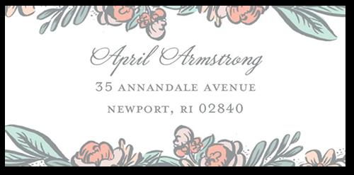 Splendid Sketch Address Label