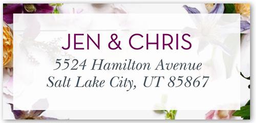 Special Beauty Address Label