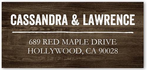Rustic Enchantment Address Label