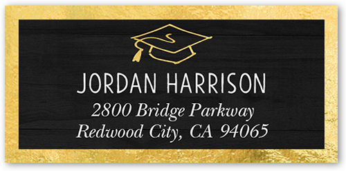 Simple Class Year Address Label