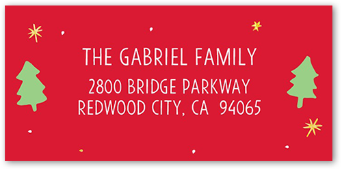Find Your Merry Gallery Address Label