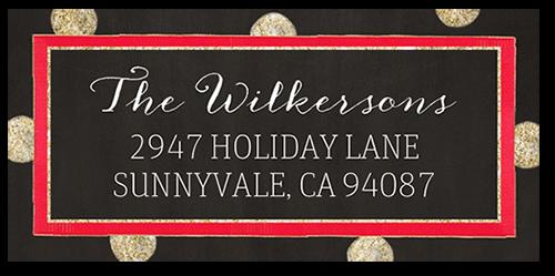 Jolly Spots Address Label