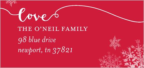 Joyful Joyful Address Label