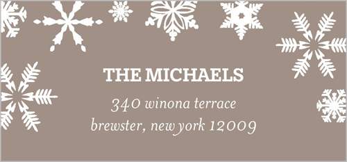 Wishes Of Winter Address Label