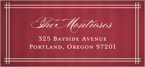 Love And Grace Address Label