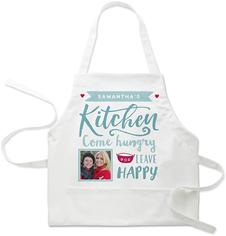 happy kitchen apron