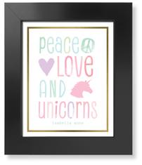 princess unicorn art print