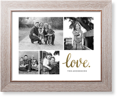 classic love collage of four art print
