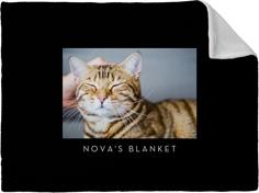 gallery of one pet fleece photo blanket