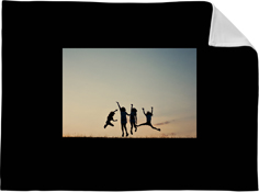 kids photo gallery horizontal fleece photo blanket
