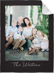 photo gallery vertical fleece photo blanket