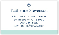 nantucket blue calling card