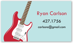 you rock calling card