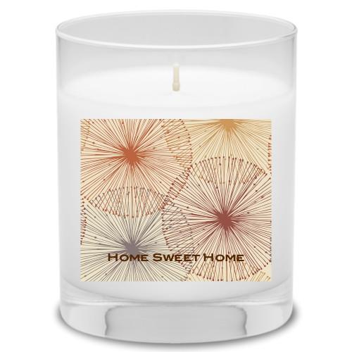 Dandelions Candle, Uncscented, Multicolor