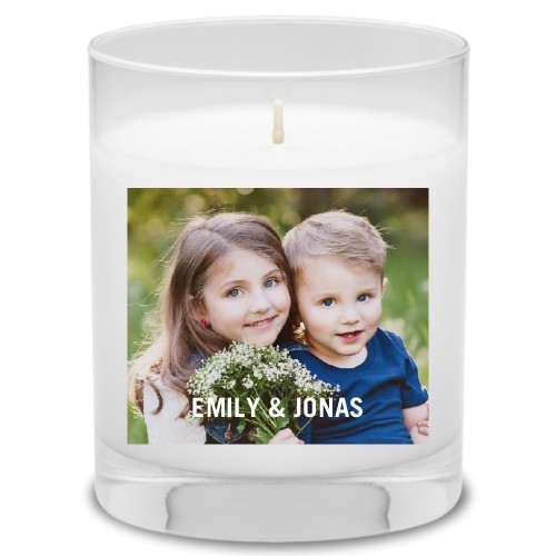 Photo Gallery Candle, Uncscented, Multicolor