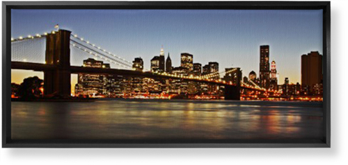 Gallery Panoramic Canvas Print, Black, Single piece, 10 x 24 inches, Multicolor