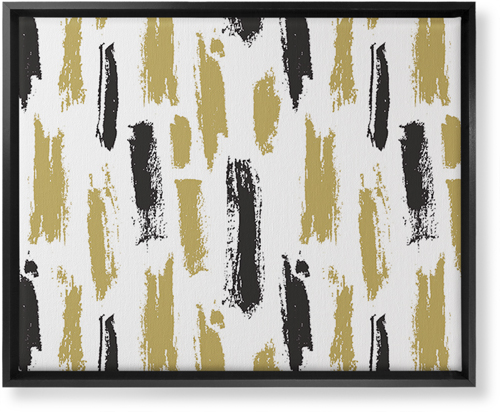 Brushstroke Lines Canvas Print