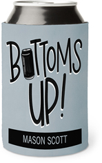 bottoms up can can cooler