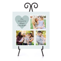 our hearts ceramic tile