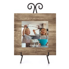 rustic faux wood gallery of one ceramic tile