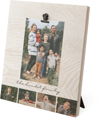 gallery of four clip photo frame