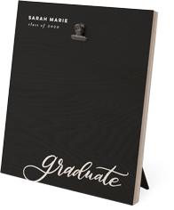 graduate script clip photo frame