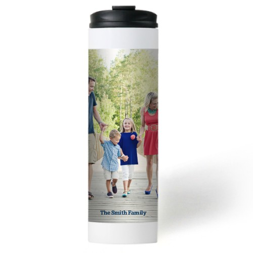 Photo Gallery Stainless Steel Travel Mug, White,  , 20 oz, Multicolor