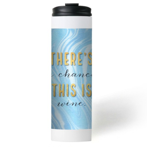 Coffee Or Wine Stainless Steel Travel Mug