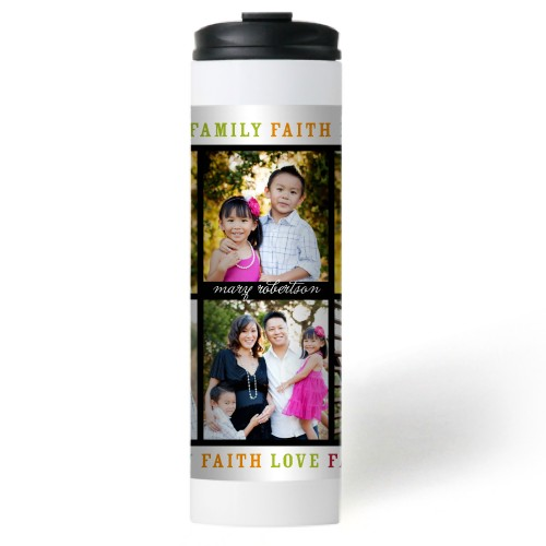 Faith Love Family Stainless Steel Travel Mug