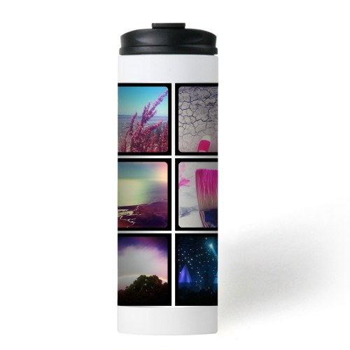 Pictogram Stainless Steel Travel Mug