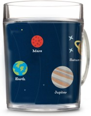 moon and stars planets cup