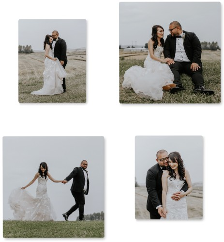 Step & Repeat Four Right Metal Prints