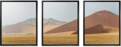 three across 16x20 spread mounted wall art