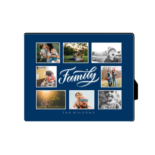 Family All Around Collage Desktop Plaque, Rectangle, 8 x 10 inches, DynamicColor