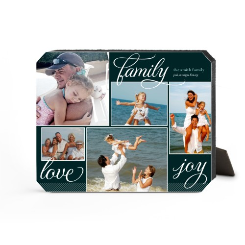 Family Sentiments Desktop Plaque, Ticket, 8 x 10 inches, Black