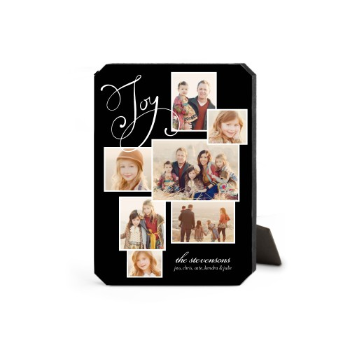 Many Joys Desktop Plaque, Ticket, 5 x 7 inches, Black