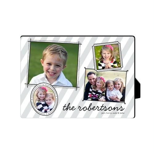 Doodle Frames Desktop Plaque, Bracket, 8 x 10 inches, DynamicColor