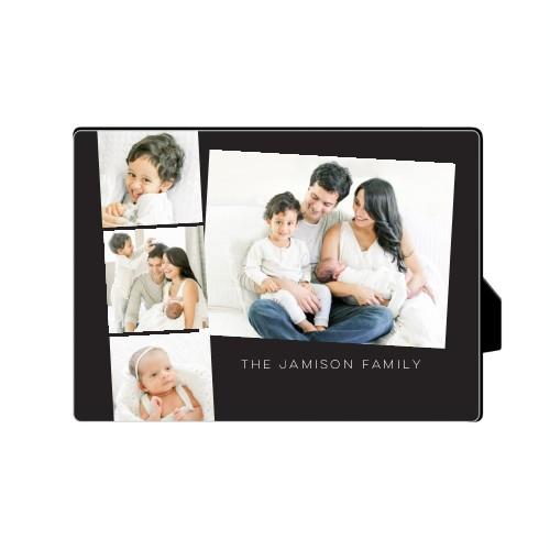 Gallery Filmstrip Desktop Plaque, Rectangle, 5 x 7 inches, Grey