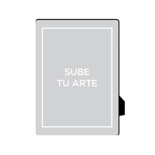 Sube Tu Arte Desktop Plaque, Rectangle, 5 x 7 inches, Multicolor