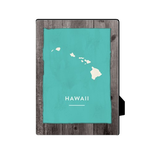 Hawaii State Art Desktop Plaque