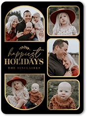 fun holiday frames holiday card