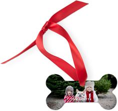 photo gallery dog ornament