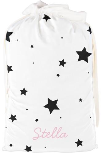 Star Drawstring Bag, X-Large, DynamicColor