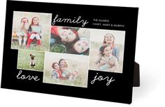 family sentiments easel back canvas